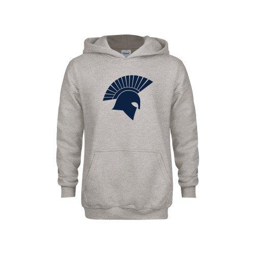 Missouri Baptist Youth Grey Fleece Hood Spartan Icon