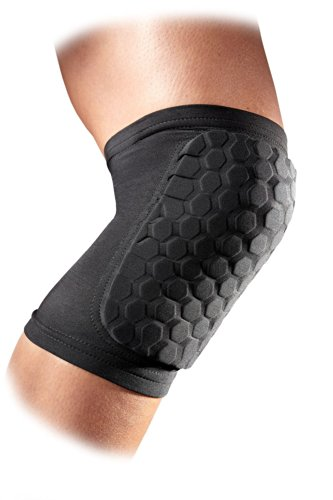 OWNLY Kneepad Honeycomb Knee Pads Leg Knee Sleeve Protective Pad Support Guard Hexpad (1 Piece) (L)