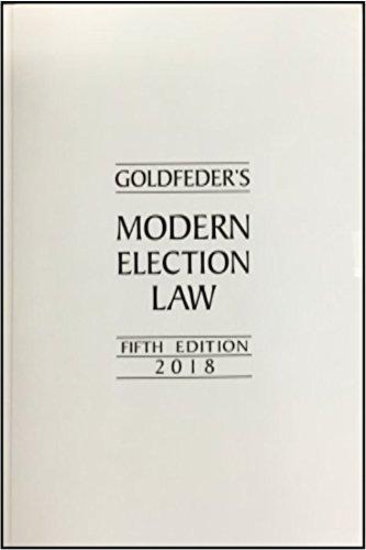 Download Goldfeder's Modern Election Law - 5th Edition pdf epub