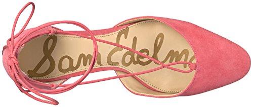 Sam Edelman Women's Loretta Dress Pump Hot Coral Suede svI01bh