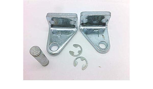 JUNXING Quad Split Limb L Brackets for Bow Press Standard 3//4 Width
