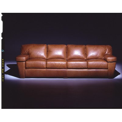 Amazon.com: Prescott 4 Seat Sofa Leather Living Room Set ...