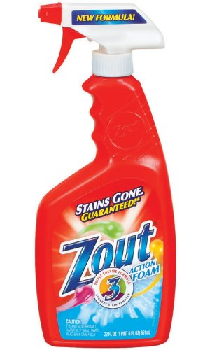 Dial 1071425 Zout Foam Stain Remover, 22oz Bottle (Pack of 12) by Dial