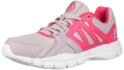 Reebok Women's Trainfusion Nine 3.0 Cross Trainer Lavendar Luck/Twisted Pink