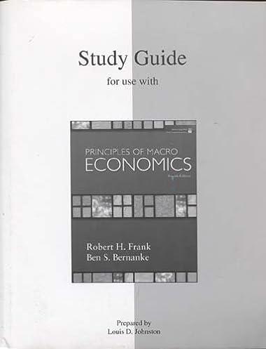 study guide for principles of macroeconomics 4e 9780073362731 rh amazon com Microeconomics Notes Factors of Production Microeconomics