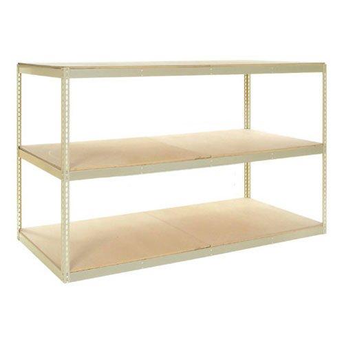 (Record Storage Rack with 18 Polyethylene File Boxes, 48