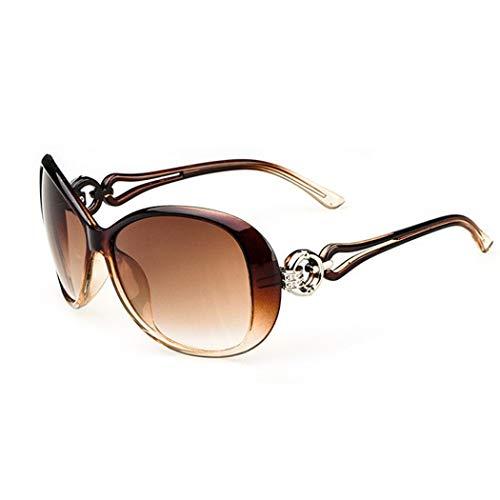 Kindsells Women Fashion Oval Shape UV400 Framed Sunglasses Sunglasses