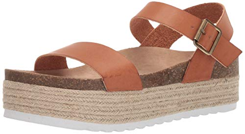 Dirty Laundry by Chinese Laundry Women's Palms Sandal, Saddle Smooth, 9 M US