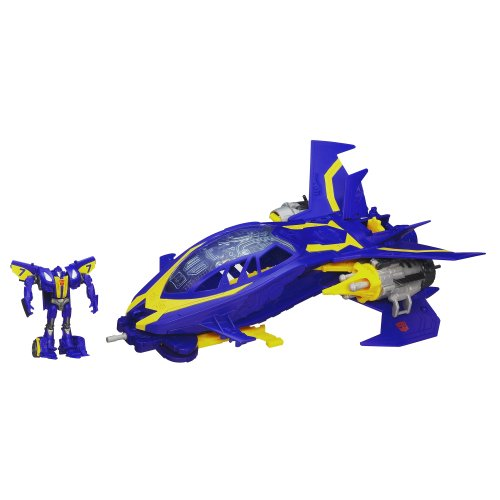 Transformers Beast Hunters Sky Claw Vehicle with Smokescreen Figure 3 Inches