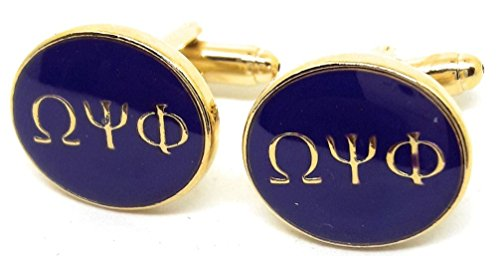 Menz Jewelry Accs OMEGA PHI PSI FRATERNITY CUFFLINKS MANUFACTURERS DIRECT - Fraternity Gift