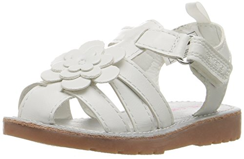 Toddler Fisherman Sandals (Carter's Misty Girl's White Fisherman Sandal, White, 9 M US Toddler)
