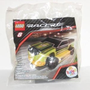 McDonalds Happy Meal 2009 Lego Racers - Sport Racer #8