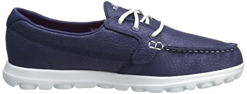 Skechers Prestaties Van Vrouwen On-the-go Vlaggenschip Slip-on Bootschoen Marine