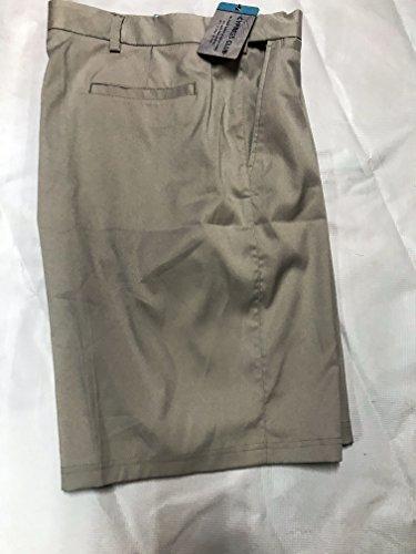 Mens Club Short - Cypress Club Flat Front Golf Shorts Mens (Ivory, 40)