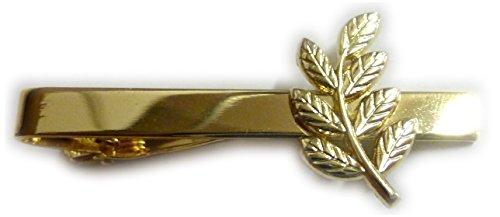 Sprig of Acacia Freemasons Blue Lodge Master Masonry Tie Bar (Lodge Bar)