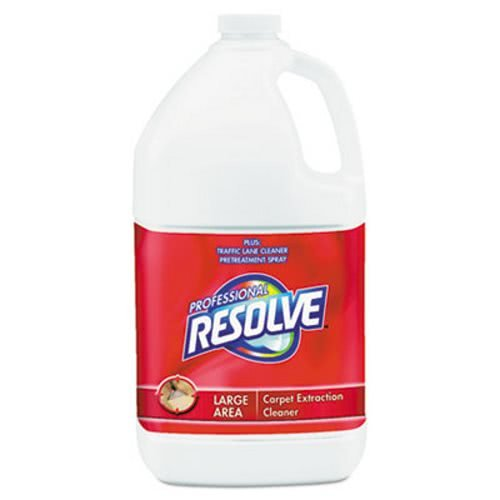 Professional RESOLVE Carpet Extraction Cleaner, 1 gal. Bottle - Includes four per case.