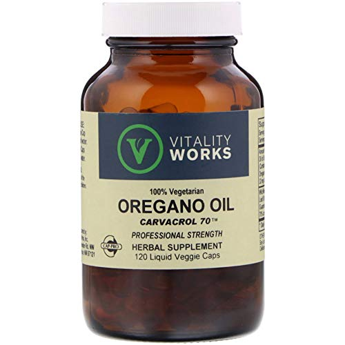 Vitality Works, Oregano Oil, 120 Veg Capsules