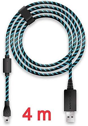 Lioncast Cable de carga para Controladores Xbox One y PS4 con ...