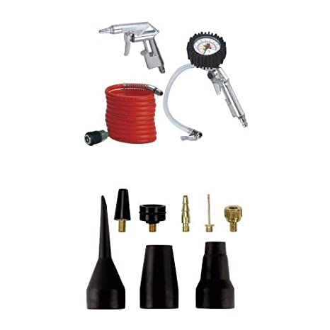Einhell - Set de 3 accesorios para compresor de aire comprimido + Einhell - Juego de accesorios de hinchado para compresor: Amazon.es: Bricolaje y ...