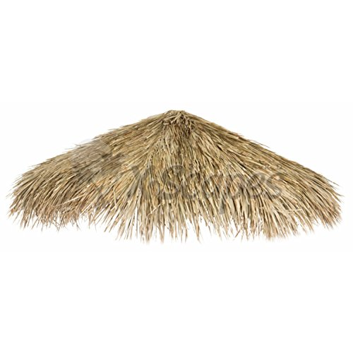 Forever Bamboo Mexican Palm Thatch Umbrealla Cover, 7ft D -