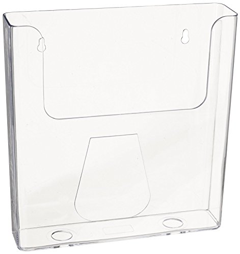 Source One Premium Large Wall Mount Magazine Rack/Brochure Holder (Wall-Mag) (6 Pack)