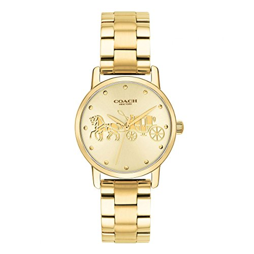 Coach Watch Gold - COACH Women's Grand - 14502976 Gold One Size