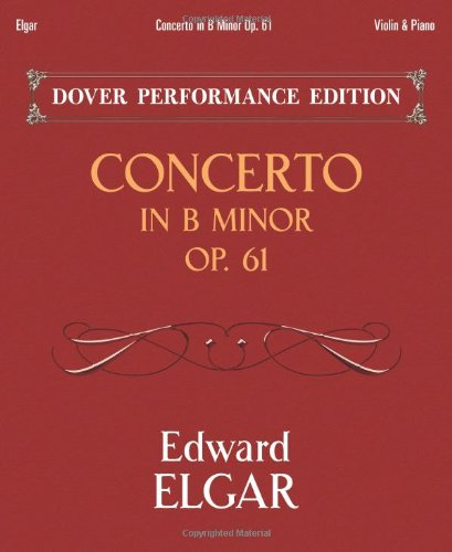 (Concerto in B Minor Op. 61: with Separate Violin Part (Dover Chamber Music Scores))