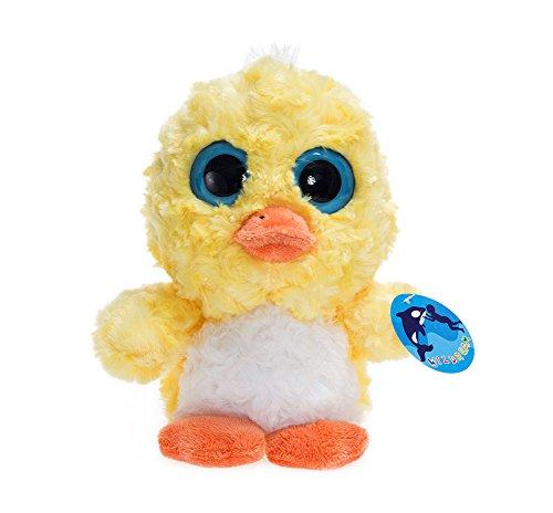 WILDREAM Stuffed Animals Plush Toys Yellow Duck With Charming Big Eyes Soft Body Best (Big Yellow Duck)