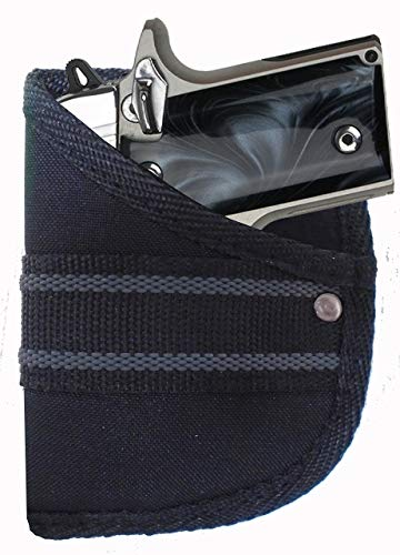 Garrison Grip Custom Fit Woven Pocket Holster Fits Sig Sauer P290 w/or w/o Laser (W2) (Holster For Sig P290)