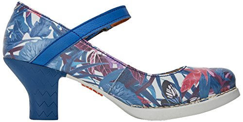 Fantasy Scarpe Donna Chiusa Hawai Multicolore Harlem Art Punta Tacco 0933f col Aq5Owx7n