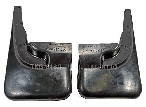 K1AutoParts Rear Splash Guard Mud Flap Fender For (2WD) Mitsubishi L200 Strada 1995-2005