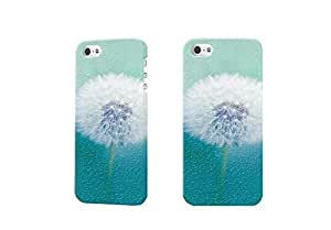 dandelion Photo 3D Case Plastic Hard Customized Personalized 3D Case For iPhone 5 & iPhone 5S