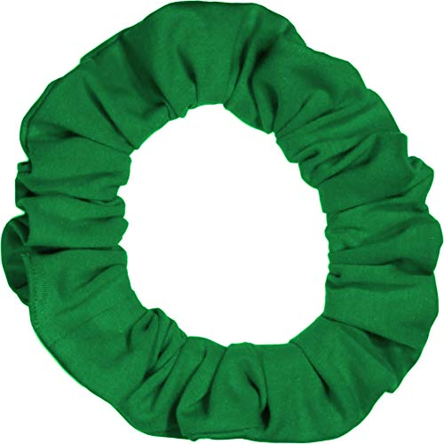 Scrunchies Premium Cotton Jersey T-Shirt Knit Ponytail Holders Many Colors Choose Size Scrunchie King Made in USA
