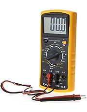 جهاز ملتيميتر ديجيتال احترافي محمول لقياس جهد التيار المتردد والتيار المستمر - DT9025A