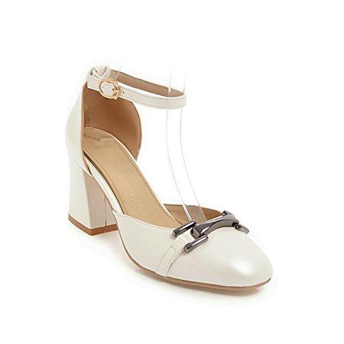 Sandales Aimint EYR00288 Blanc Compensées 5 Blanc EU 36 Femme 5r5wnqx