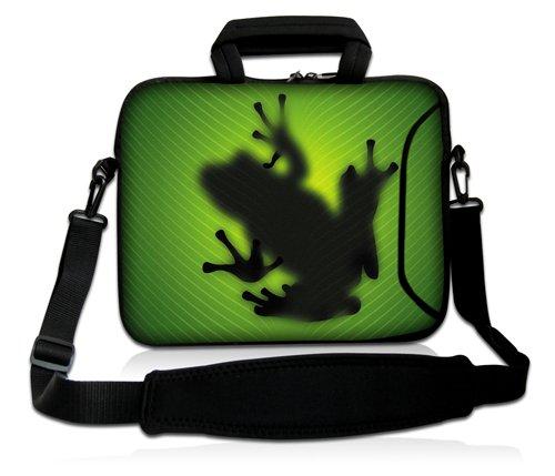Luxburg® Design Laptoptasche Notebooktasche Sleeve mit Schultergurt ...