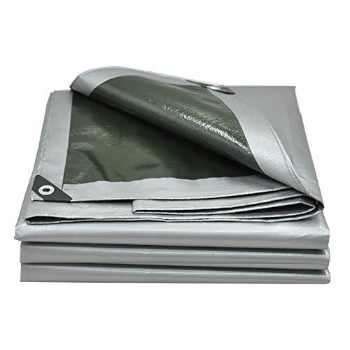 Wasserdichte Plane UV-Schutz, Sonnenschutz, Parkplatz Schuppen Canvas Polyethylen Grau, 160G   M²