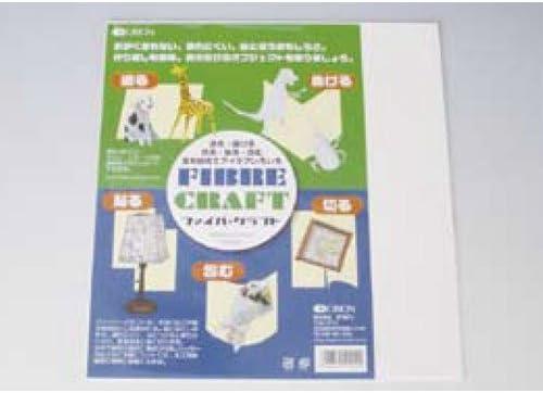 ファイバークラフト(5枚入)【デザイン カラー工作用紙】BB70110