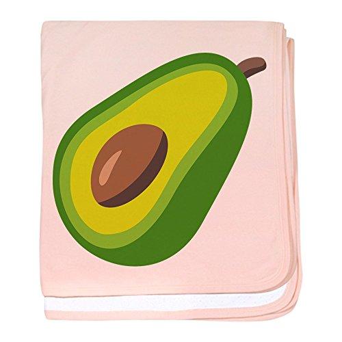 - CafePress Avocado Emoji Baby Blanket, Super Soft Newborn Swaddle