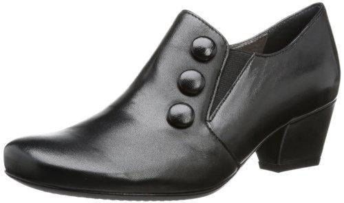 ara Orleans - Plataforma de cuero mujer negro - Schwarz (schwarz 01)