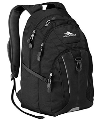 High Sierra Riprap Deluxe Padded Backpack Laptop Mp3 Cell Phone Pockets (aqua)