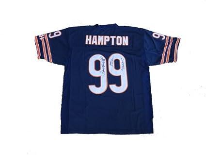 Dan Hampton Signed Chicago Bears Jersey JSA at Amazon s Sports ... b9320dd8edd3