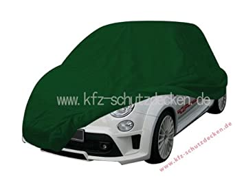 Car Cover Satin Green For Fiat 500 Amazon Co Uk Car Motorbike