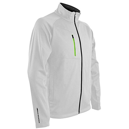 Sun Mountain Mens isotherm Full Zip Jacket White (Sun Mountain White Jacket)
