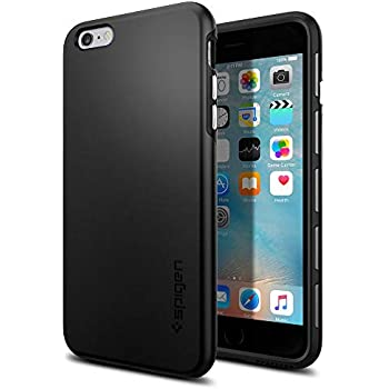 225e0f09b44 Spigen Thin Fit Hybrid Designed for Apple iPhone 6S Plus Case (2015) - Black