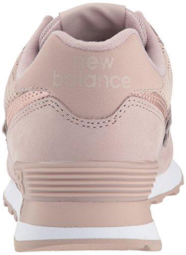 Rose Bottes Lait Wl574 Classiques Metallic au Balance New Femme Nbm champagne PqgpWw