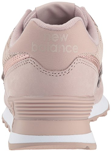 Wl574v2 Nbm New Metallic au Para Balance Zapatillas Lait Rosa Mujer champagne Bw5x7qw