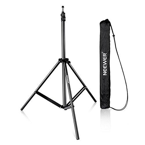 NEEWER 210cm 写真撮影スタジオライトスタンド ビデオ ポートレート および撮影照明に対応の商品画像