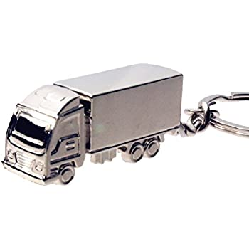 BR TRUCK Alloy Car Key Chain Ring Holder Keychain