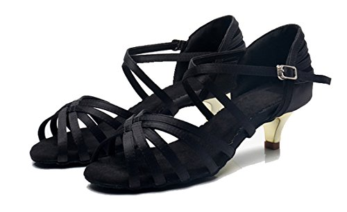 MGM Contempóraneo Heel 4 Jazz Mujer Y 5cm Joymod Black OqrfOSw